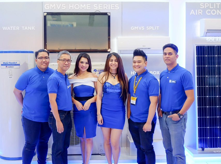 GREE Aircon Showcases Latest Tech at PhilConstruct 2018