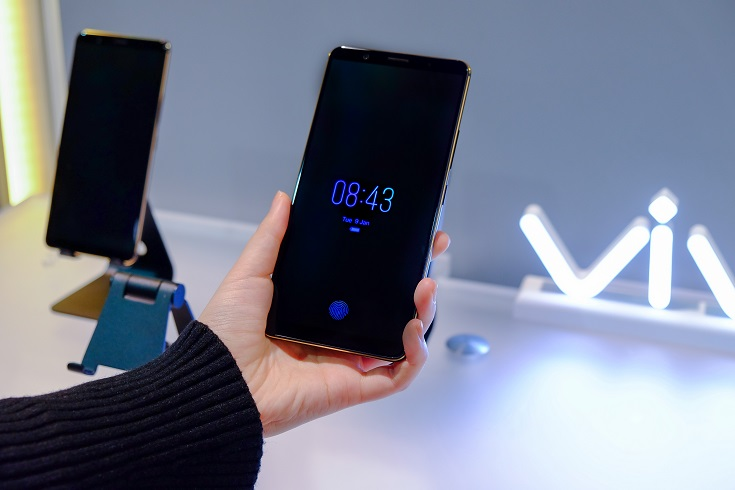 Vivo Showcases World's First Ready-to-Produce In-Display Fingerprint
