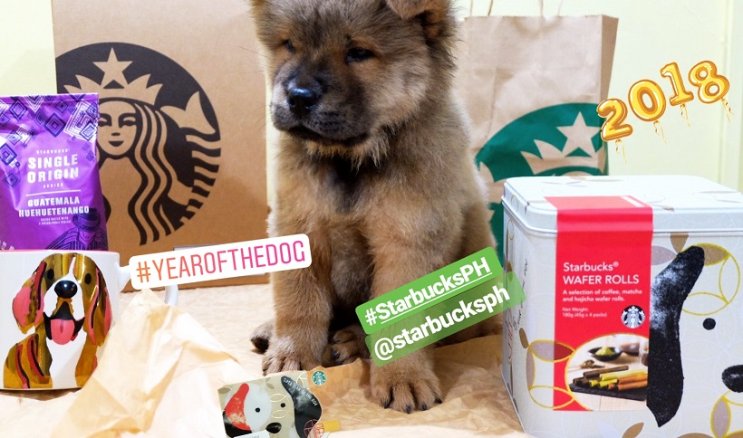 Starbucks Celebrate the Lunar New Year with the Earth Dog Merchandises