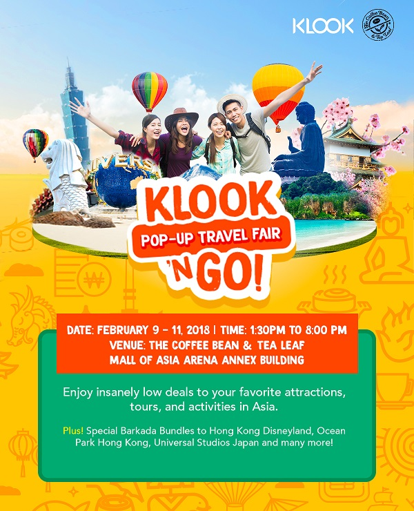 Alex Gonzaga Joins Klook n' Go Travel Fair at CBTL Mall of Asia