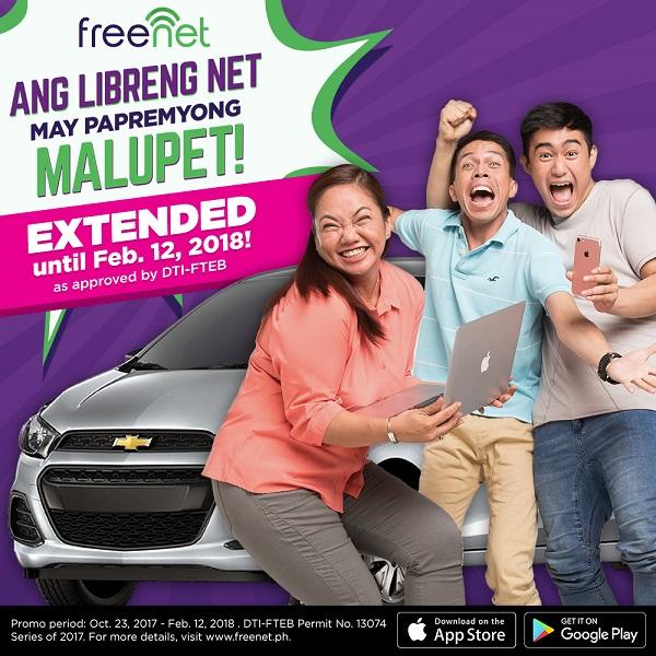 Freenet Extends Papremyong Malupet Promo
