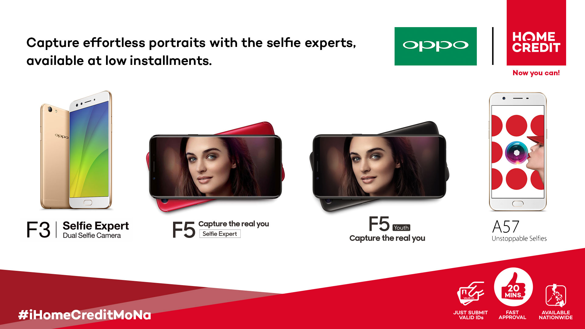 Home Credits Shares the Love with OPPO, at 0% Interest