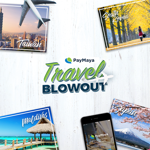 Win an All-Expense Paid Trip at PayMaya's Travel Blowout Promo