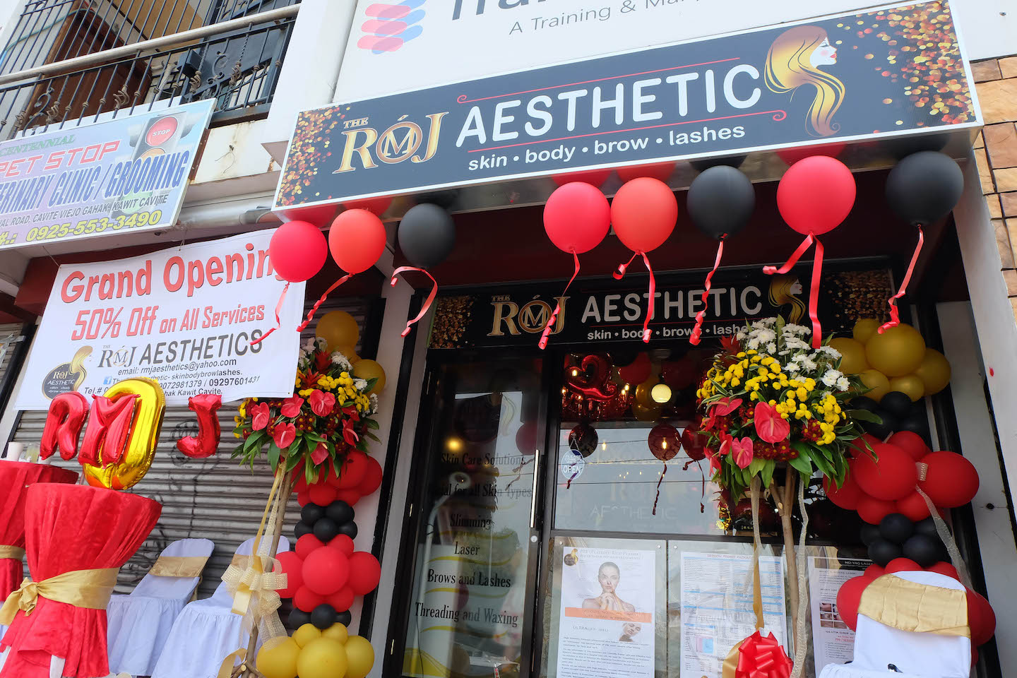 RMJ Aesthetics Opens in Kawit, Cavite for Your Skin Body, Lashes, Brows