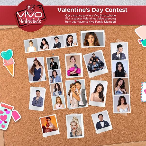 Celebrate Valentine's Day with your Vivo Valentine