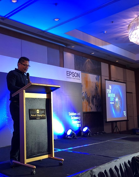 Epson Reinvents the Workplace with Smart Solutions