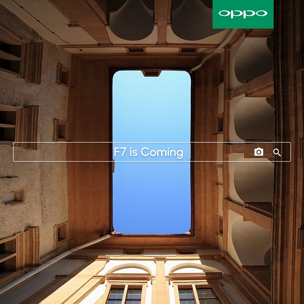 OPPO iI Set To Introduce The New F7 with Super Full Screen Display