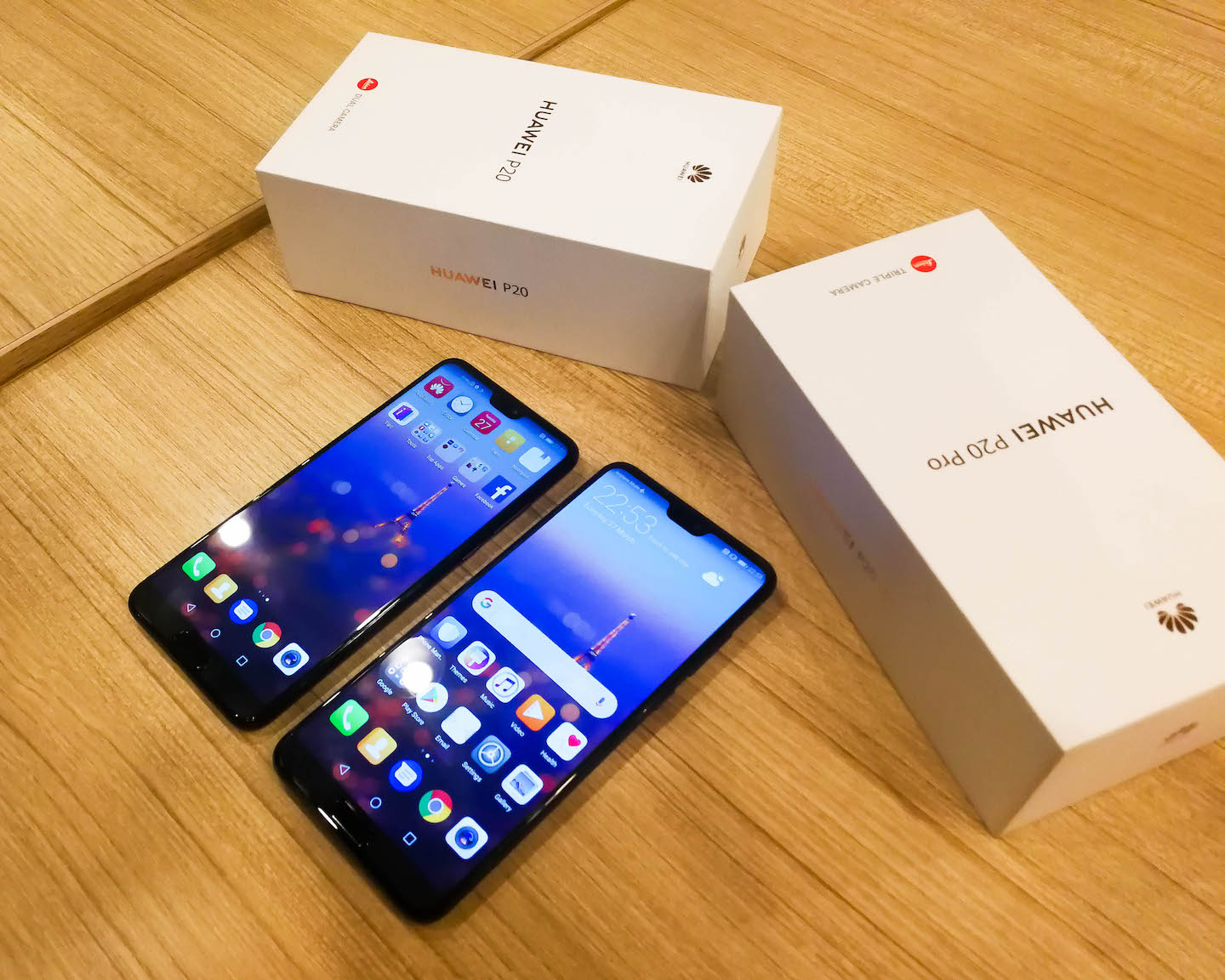 HUAWEI P20 and HUAWEI P20 Pro Is Officially Out!