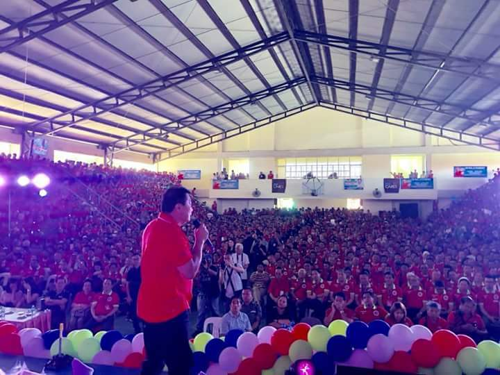 Thousands of Northern Samar Political Leaders Join PDP-Laban