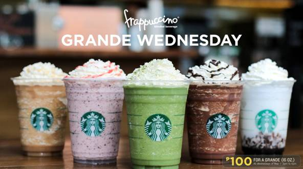Starbucks is Bringing Back Grande Wednesdays This May!