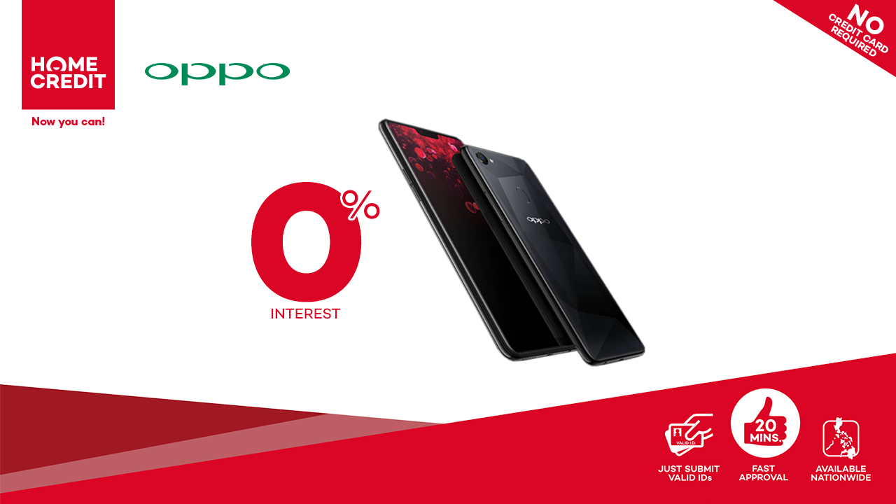 OPPO F7 Brings the New Generation of Performance – at 0% Interest!