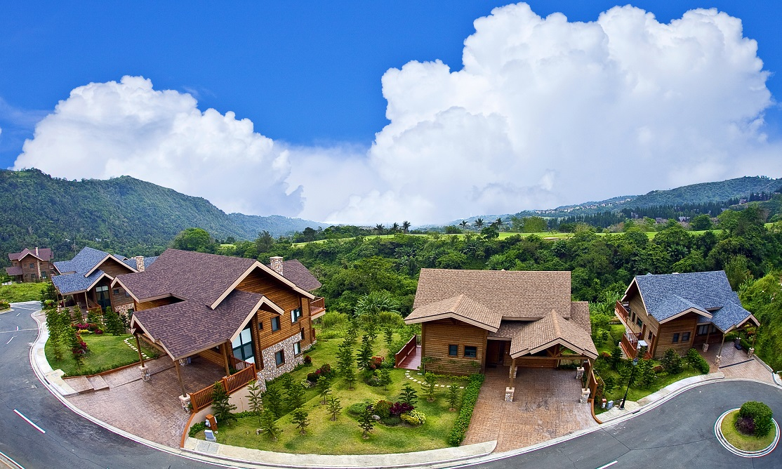 Luxury Log Cabins at Tagaytay Highlands' Woodlands Point