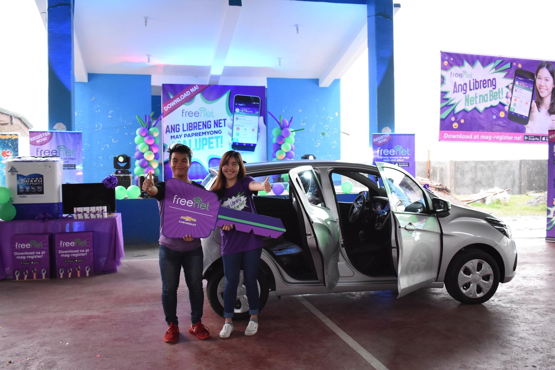 Visayan freenetizen wins Chevrolet Spark at the Papremyong Malupet Grand Draw