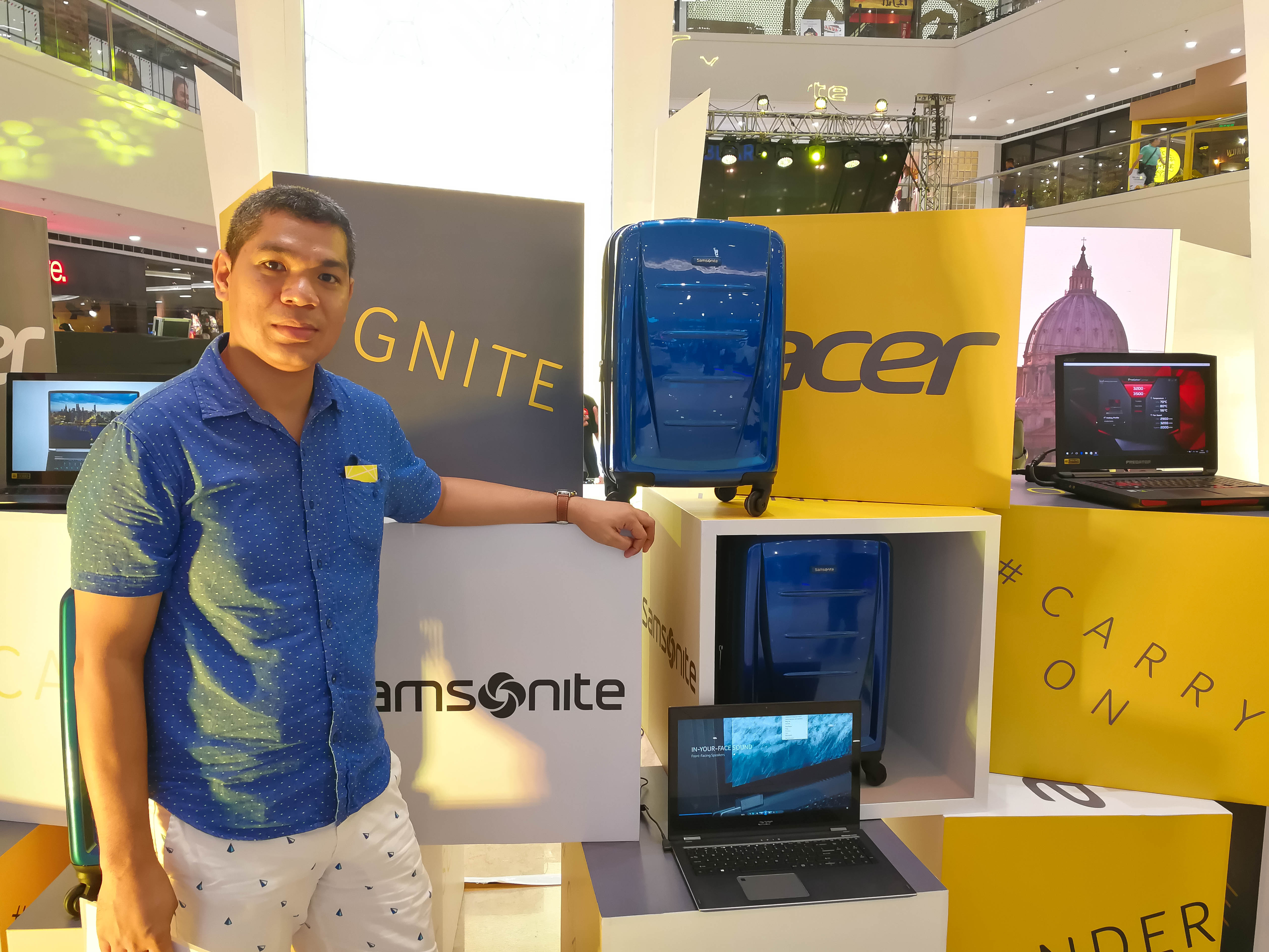 Acer Philippines Gives You More Reason To Travel with Samsonite Luggages