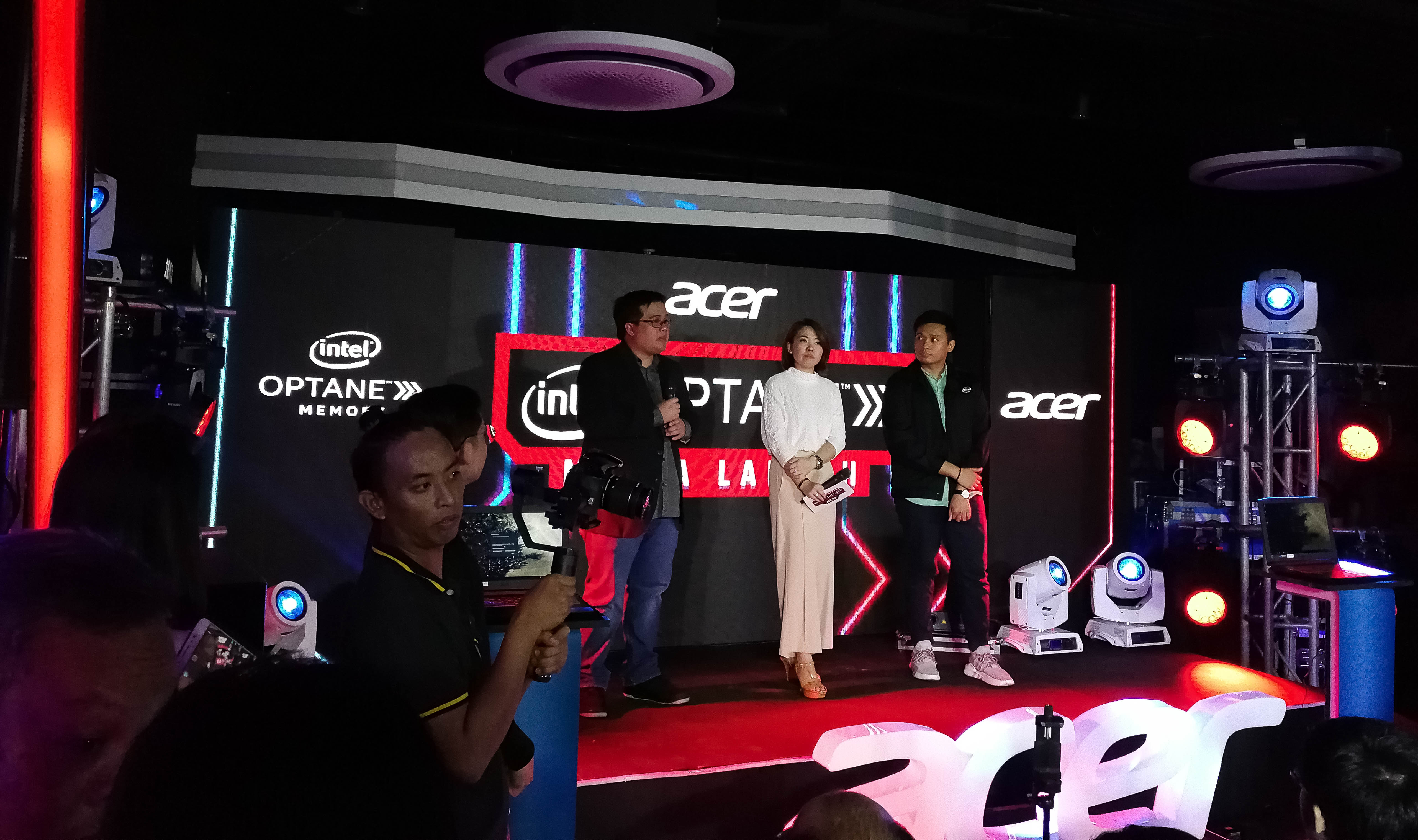 Acer Philippines Launches Intel Optane-powered Nitro 5