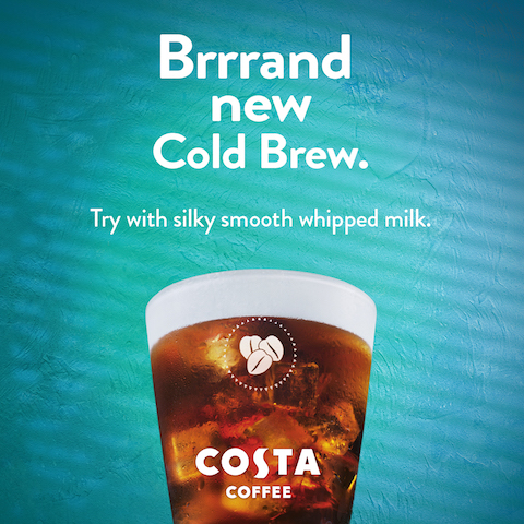 Costa Coffee's Cold Brew, Get Them While Their Cold!