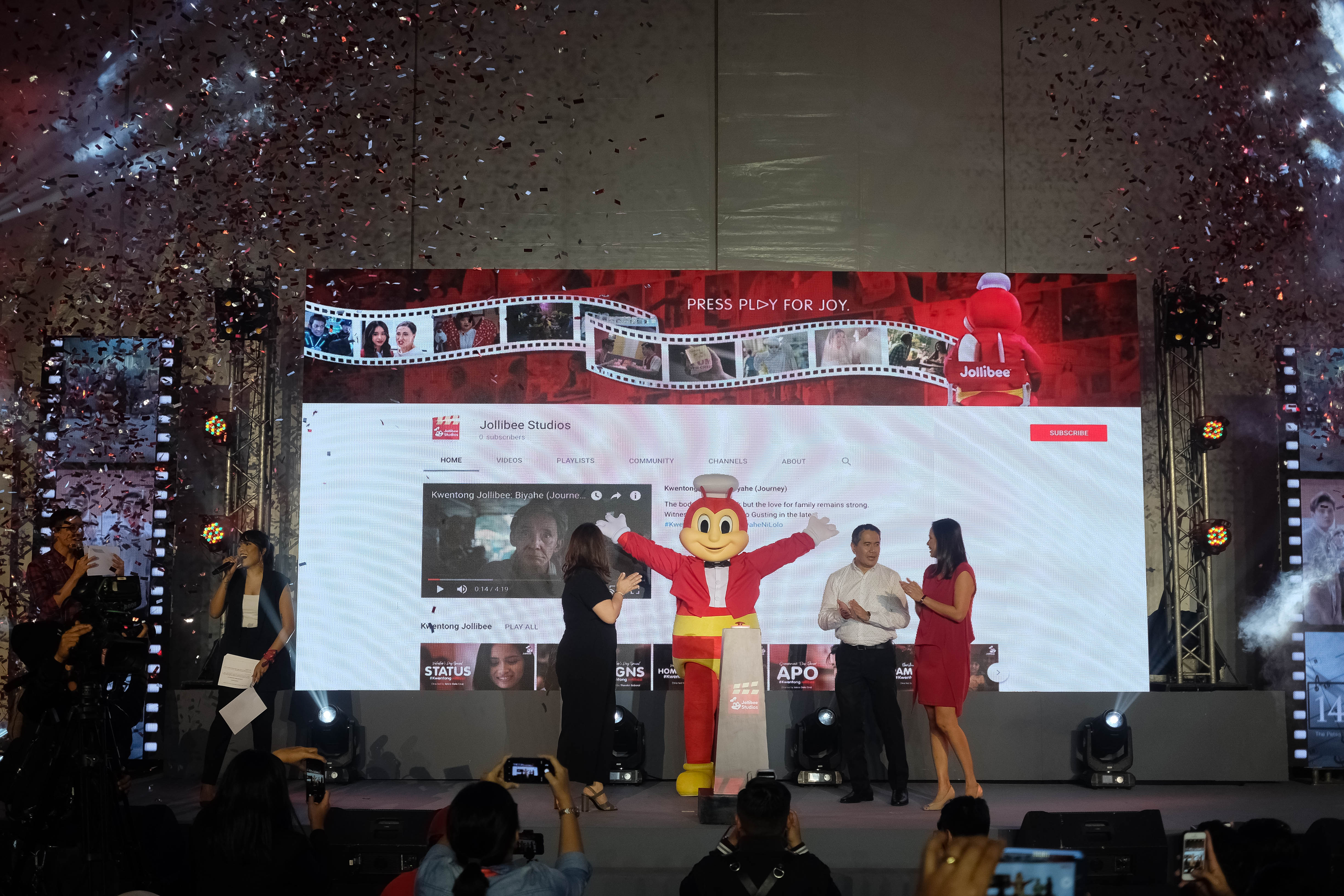 Jollibee Launched its Newest Entertainment Channel on Youtube – Jollibee Studios