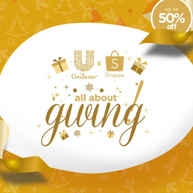 Uniliver Is Giving Up To 50% OFF at Shopee 11.11 SALE