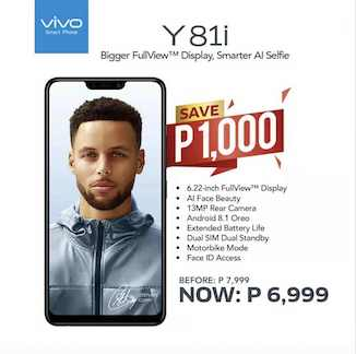 Price Drop Alert: Vivo Y81i Can Be All Yours for Only Php6,999