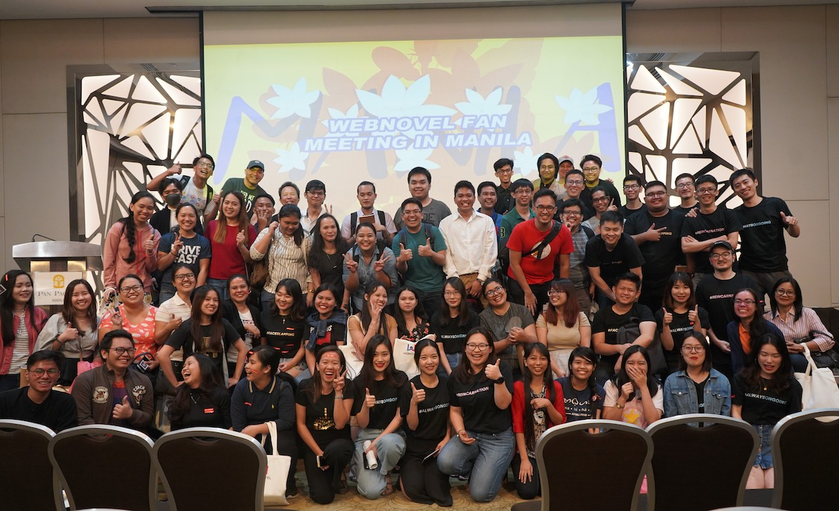 Webnovel Hosts First Fan Meeting in Manila