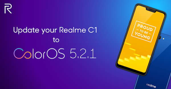 Realme Update The Entry Level King, C1 with ColorOS 5.2.1