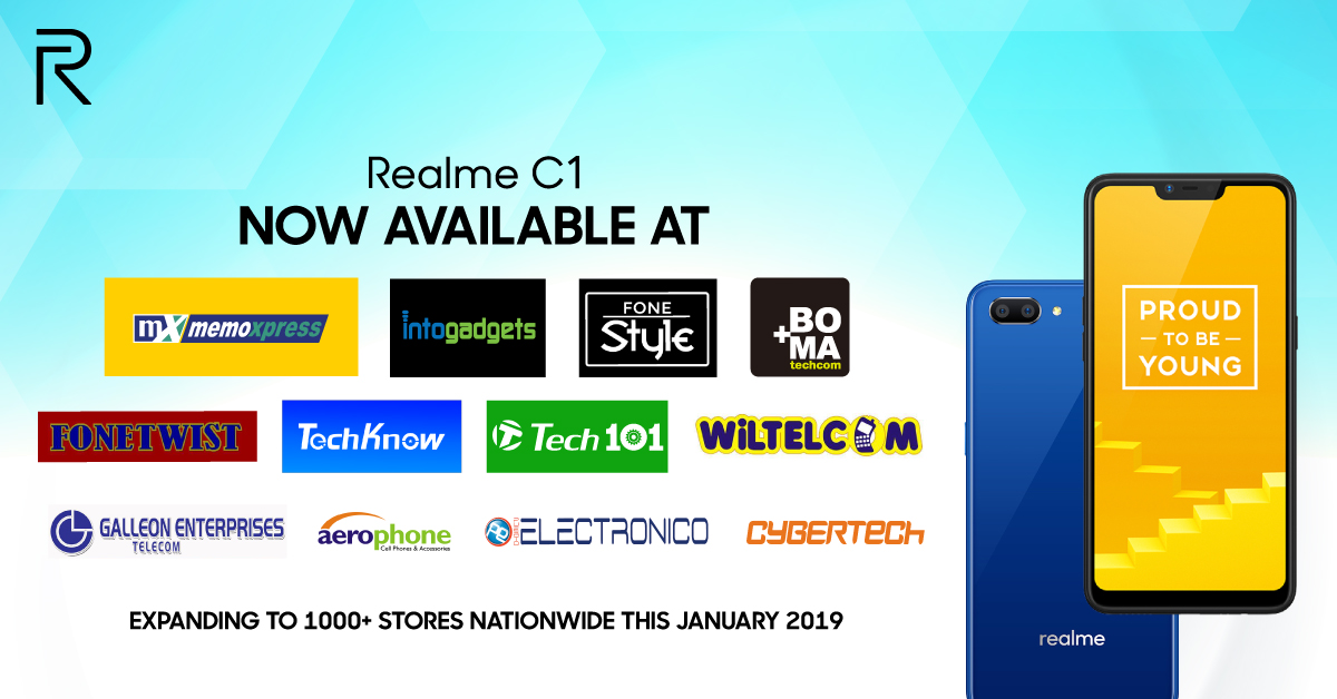 Realme is Now Available at Over 1000 Stores Nationwide