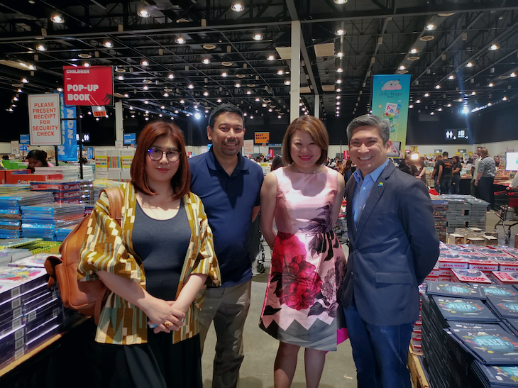 PayMaya is the Official Digital Payments Partner of Big Bad Wolf Books Manila