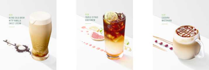 Starbucks Celebrates Coffee Passion with New Cold Craft Beverages