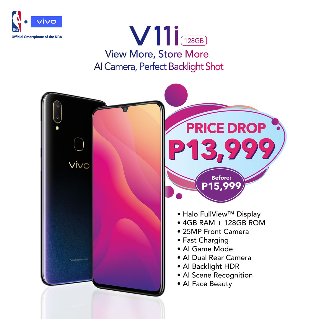 What You'll Love About Vivo: V11i Now Only P13,999