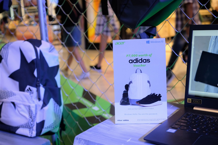 Acer Kicks of Back to School Promo with Adidas