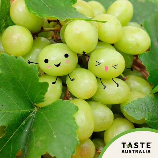 Have a Grape Day with Beautiful, Sweet and Crunchy Aussie Grapes!