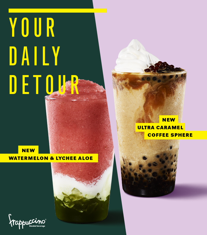 Hit Pause, Here Come the New Starbucks Beverages