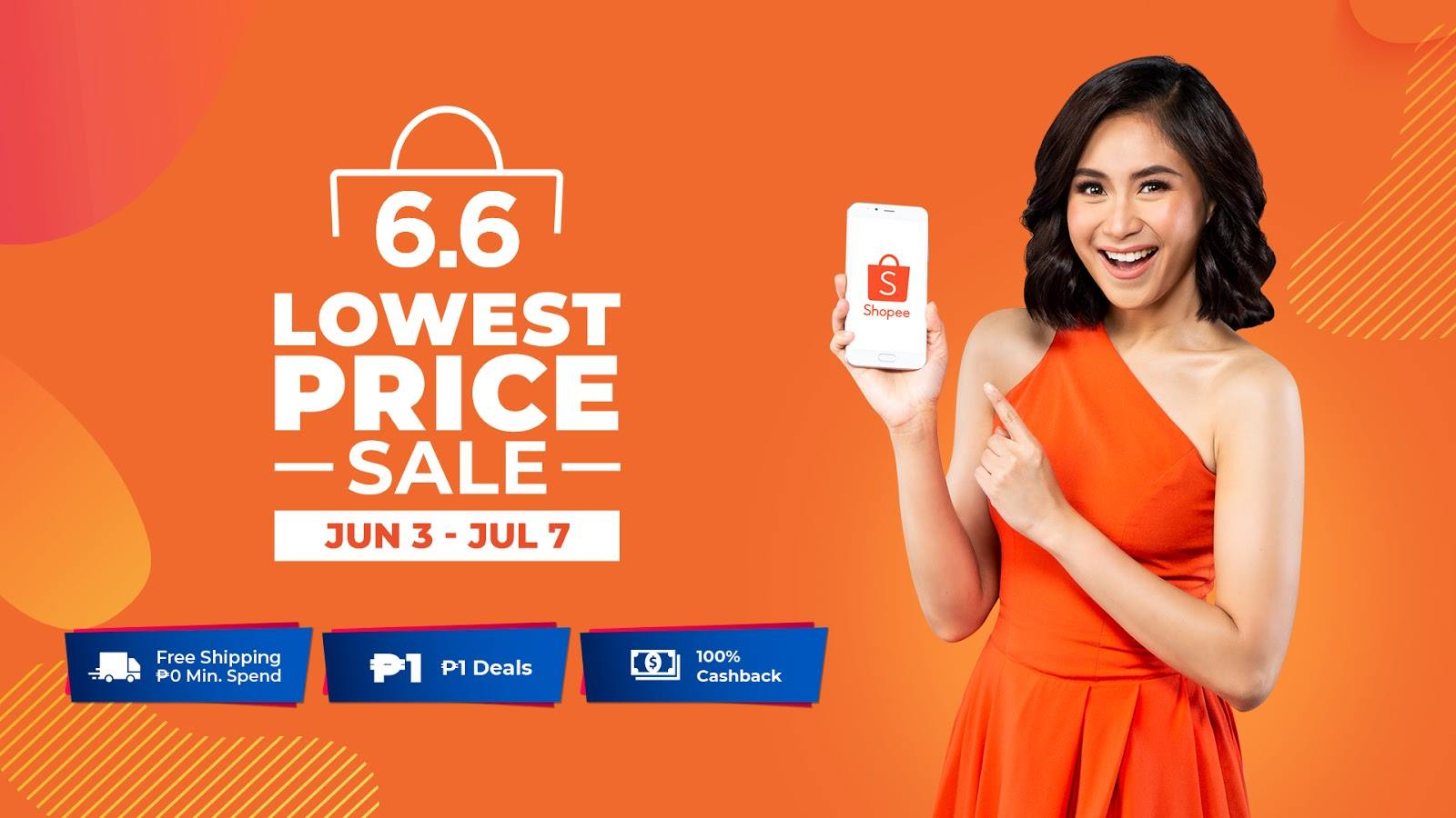 Shopee Reveals Sarah Geronimo as New Brand Ambassador in time for Shopee 6.6 – 7.7 Lowest Price Sale