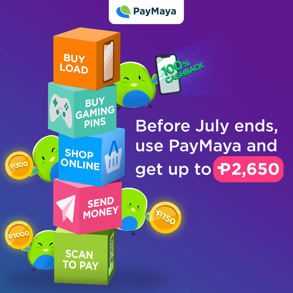 Get More Rewards When You Pay via Cash or Credit Card