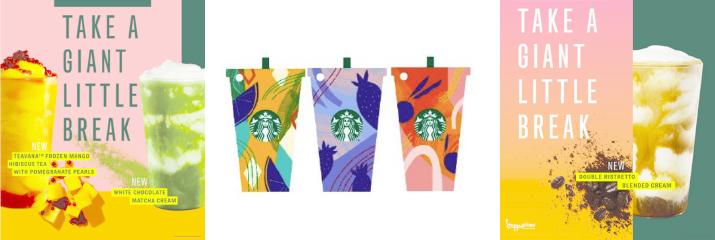Take a Giant Little Break at Starbucks