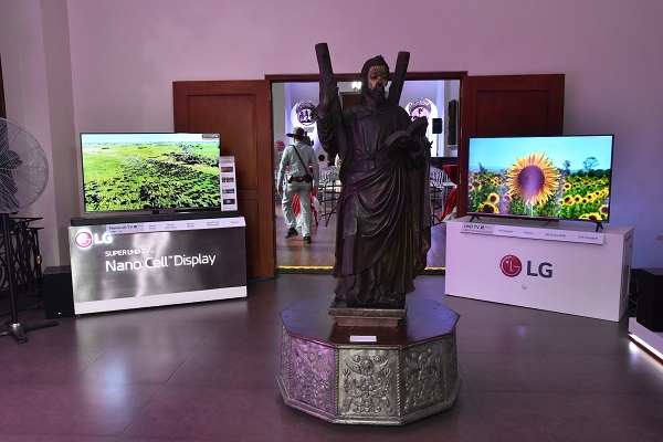 LG Celebrates History with Tomorrow's AI Technology