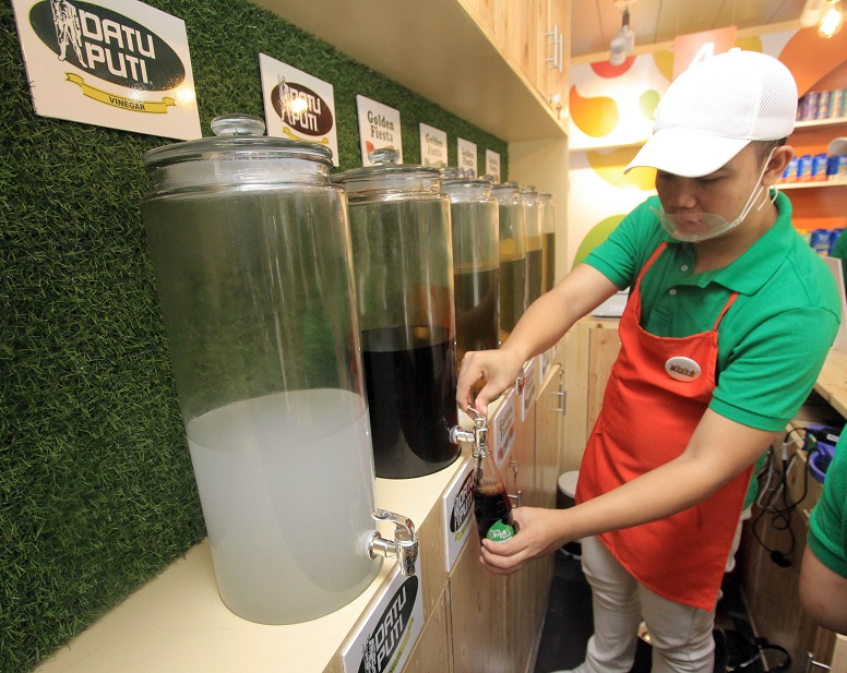 Bring Your Own Bottle, refill your favorite condiments in NutriAsia's BYOB