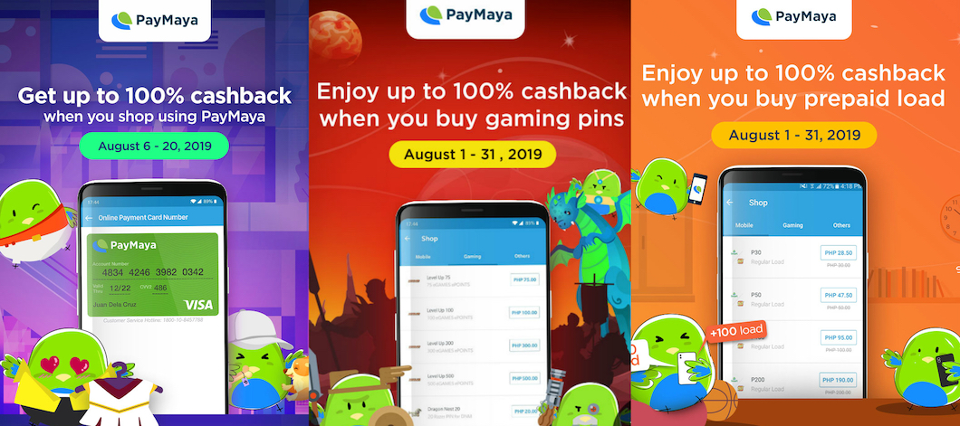 Chase the Rainy Day Blues with Exciting Perks from PayMaya this August!