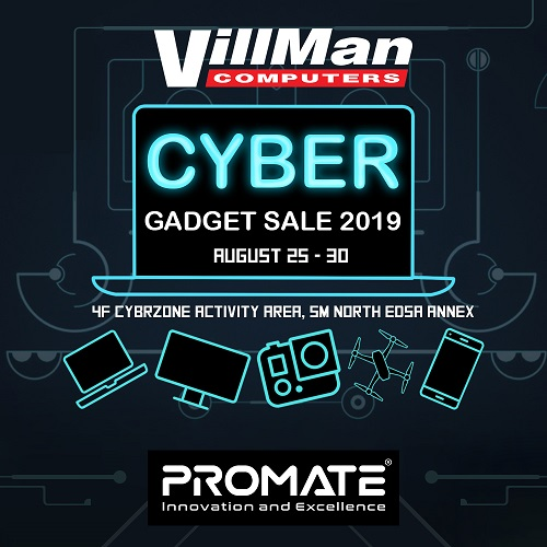Promate at 6-day VillMan Computers' Gadget Sale
