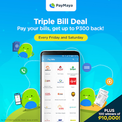 Meralco, PLDT, Smart, Pag-IBIG and other bills? Don't pay cash, PayMaya!
