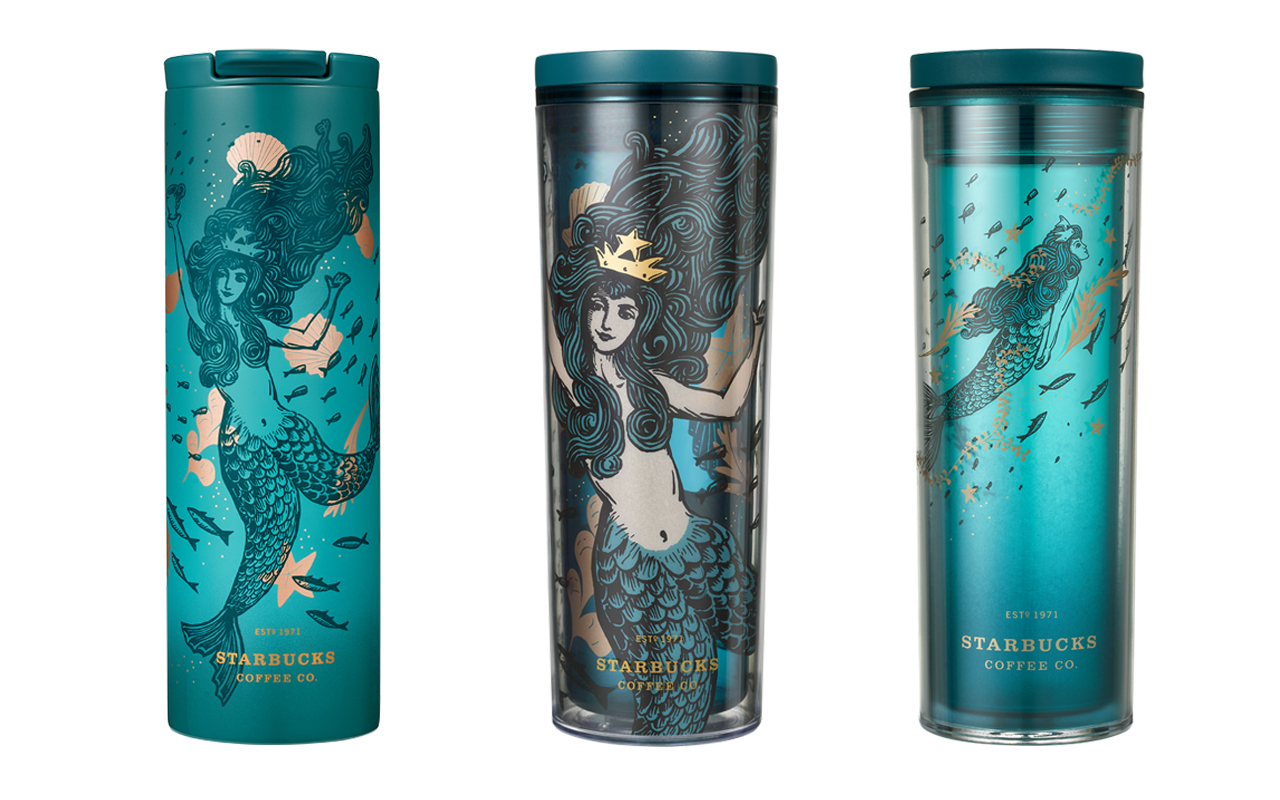 Heed the Siren's Call with the Mystical Starbucks Anniversary Collection