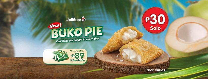 Satisfy Your Buko Cravings Anytime with the New Jollibee Buko Pie!