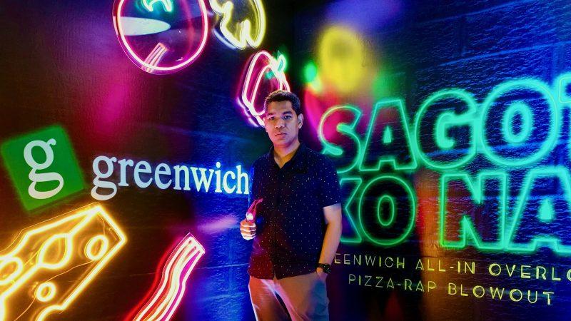 Pizza-Rap Barkada Blowout with #GreenwichSagotKoNa