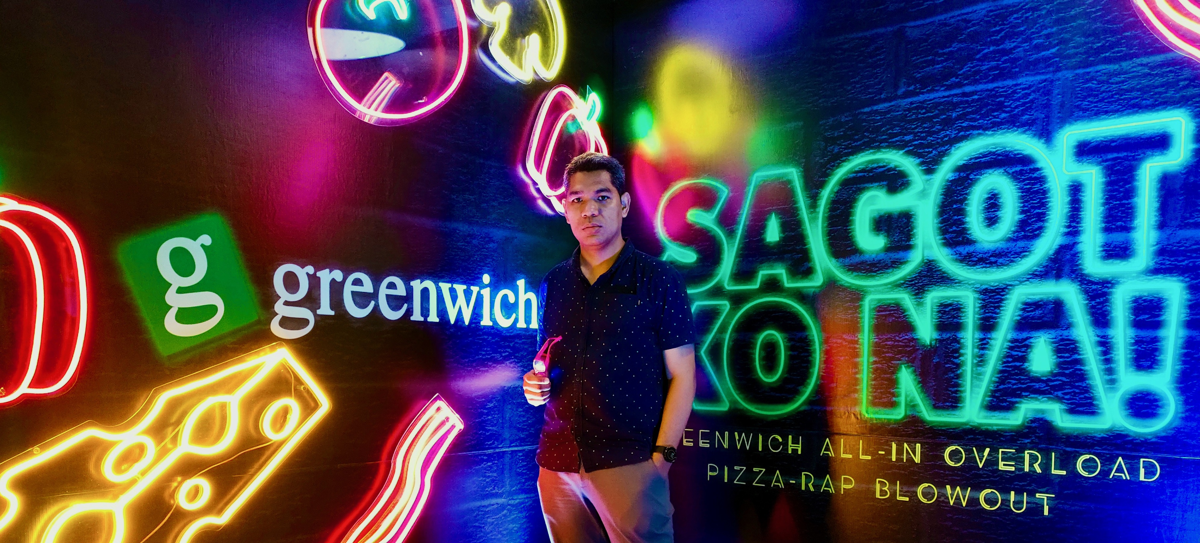 Pizza-Rap Barkada Blowout with #GreenwichSagotKoNa