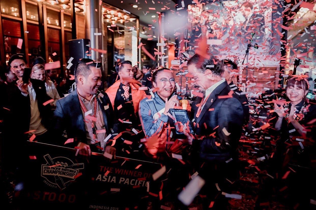 Marinel Paguia Wins TGIFridays Asia-Pacific Bartending Championship!