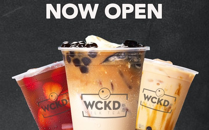 Wckd Milk Tea Now Open at S'Maison