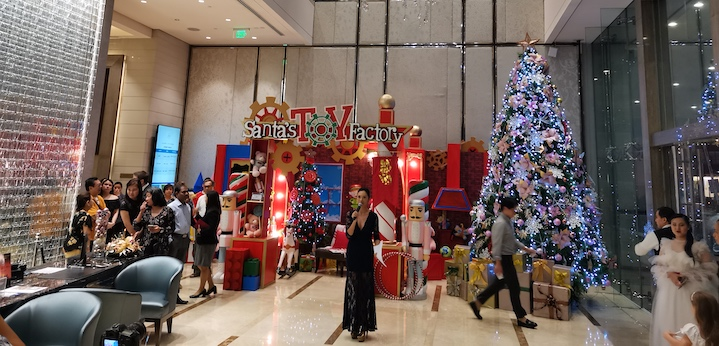 Ascott Bonifacio Global City Manila Lights Up Christmas