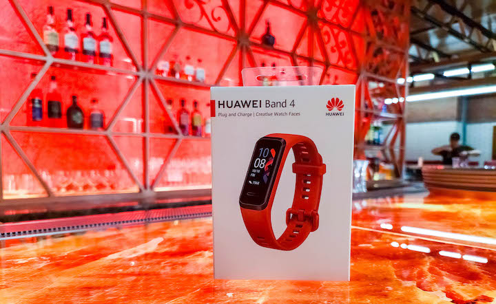 Huawei Launches Watch GT2, Band 4 and Band 4e