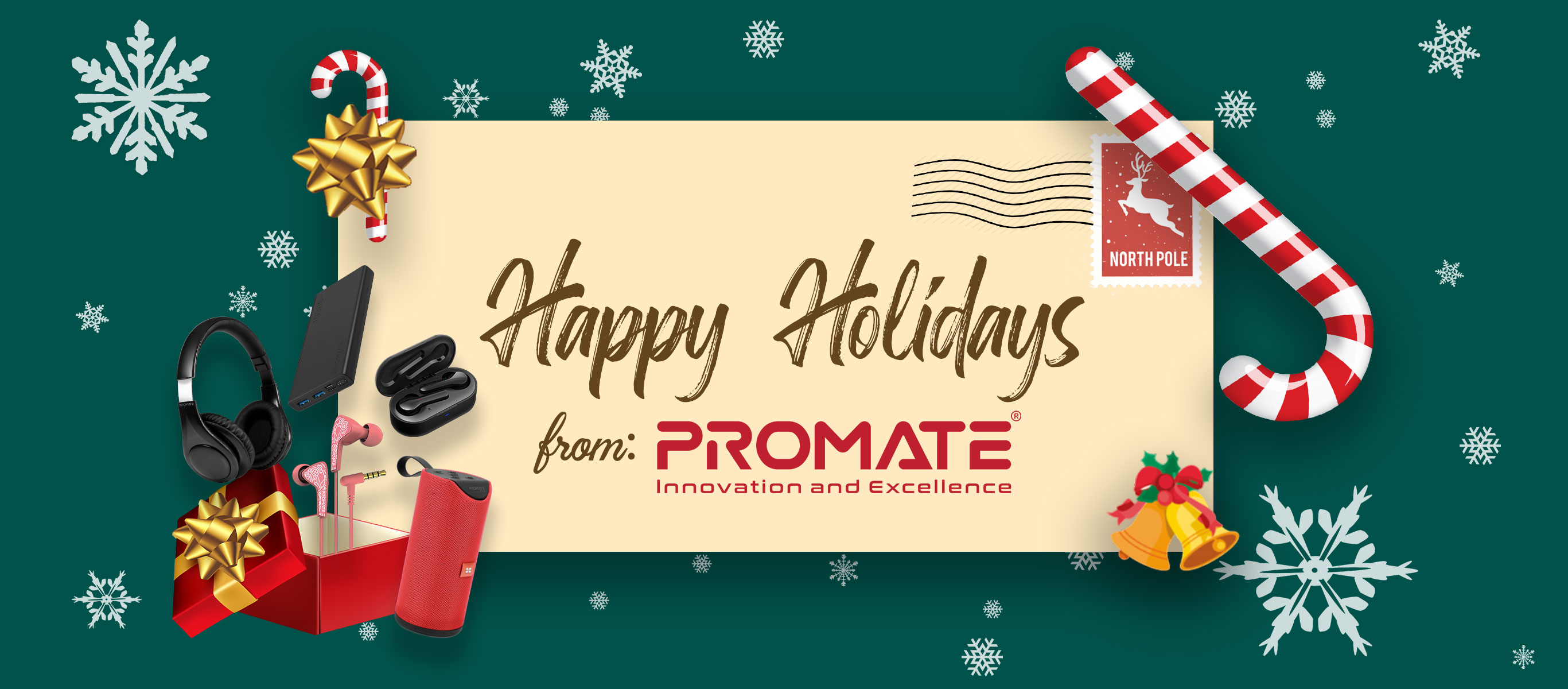 Complete Your Christmas Shopping List with Promate's Holiday Promo