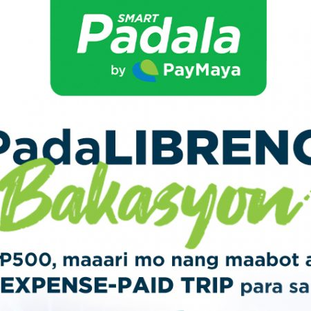 PadaLibreng Bakayson with Smart Padala and PayMaya